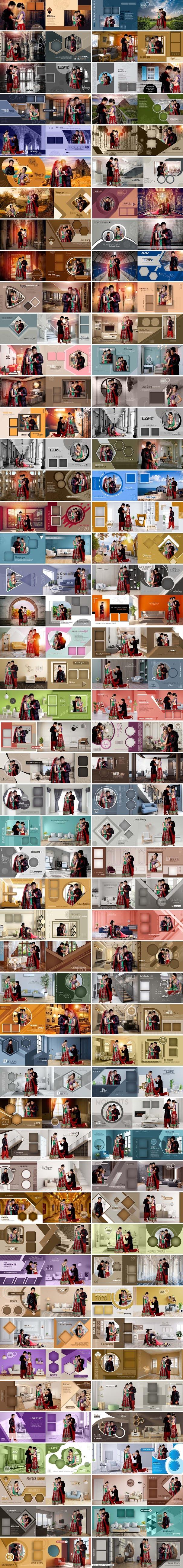 Wedding Album DM Designs PSD Bundle