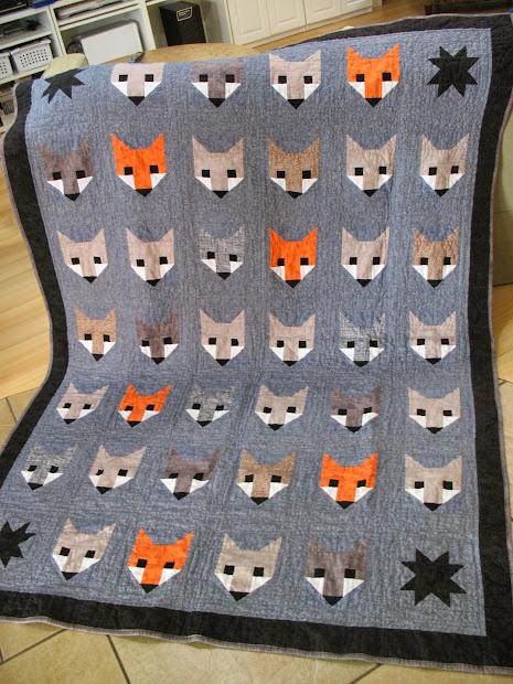 Ye Olde Sweatshop Fancy Fox Quilt #32