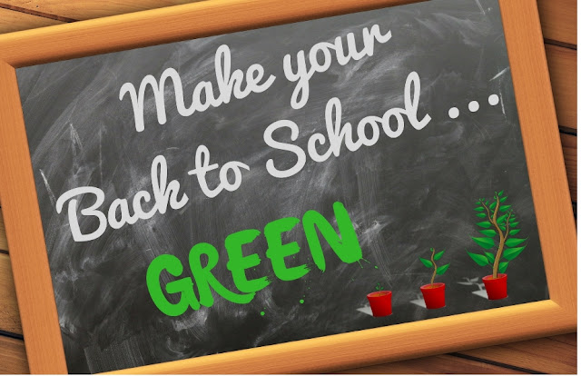 7 ideas for a Green Back to School