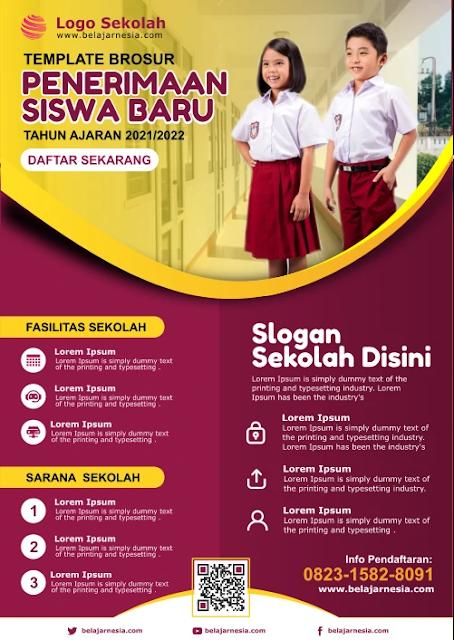 Download Kumpulan Brosur Sekolah Dasar Word Gratis