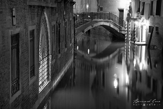 Bernard Grua photo venise noir et blanc