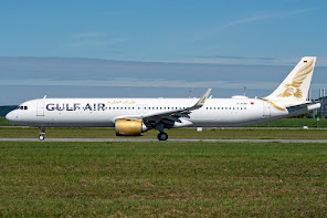 1st A321N for Gulf Air