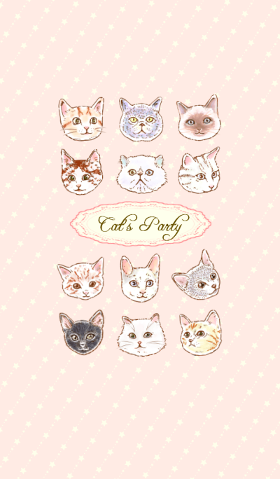 Cat's Party ~ Girly ver.~