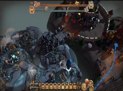 塔炮戰爭(Tower Wars),豐富又華麗的大型塔防防禦!