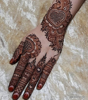 simple mehndi designs for beginners step by step