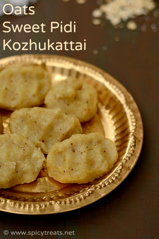 Oats Sweet Kozhukattai