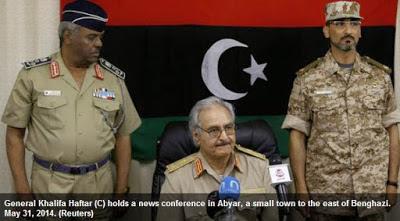 Haftar gives Turkey 2 choices in Libya