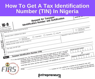 How To Get Tax Identification Number (TIN) In Nigeria