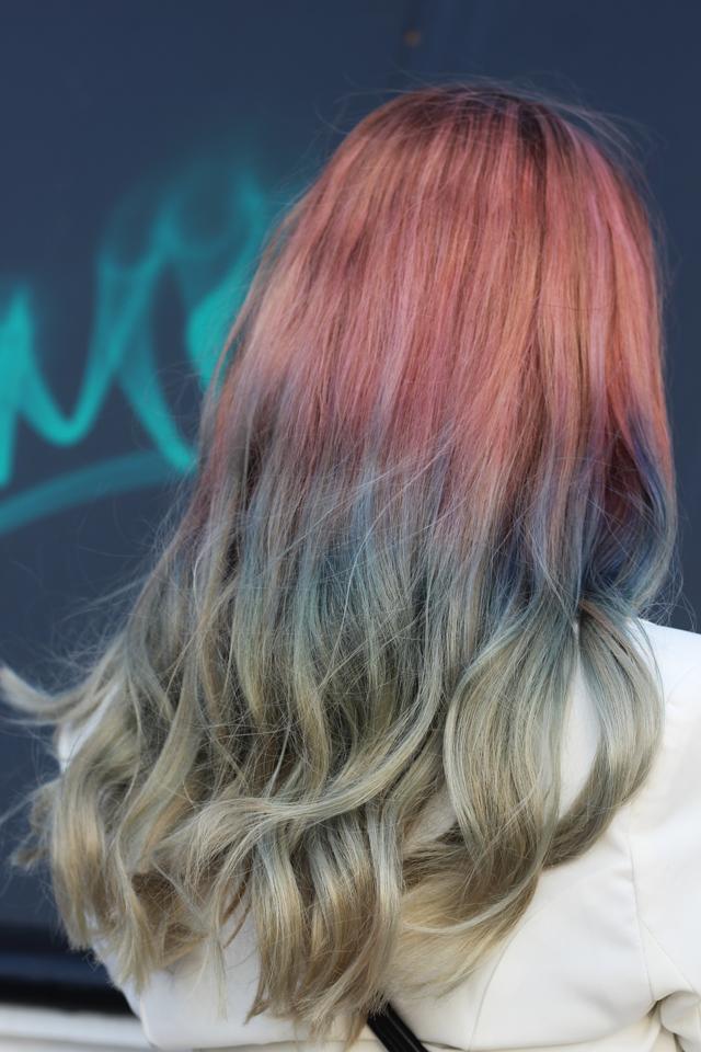 how to get rainbow mermaid hair