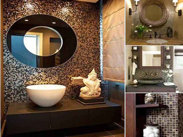 Wonderful Mosaic Bathroom Tile designs