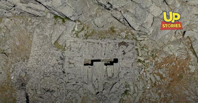 Δρακόσπιτο Όρους Όχη: Το Ελληνικό Στόουνχετζ στα 1365μ. υψόμετρο (βίντεο drone)