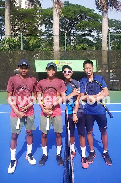 ITF J5 Jakarta: Ari dan Ali Pijakkan Kaki ke Semifinal