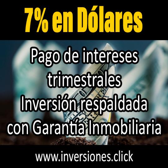 Gana 7% en Dólares