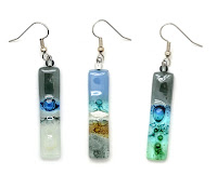 Dunitz Fair Trade Glass Earrings
