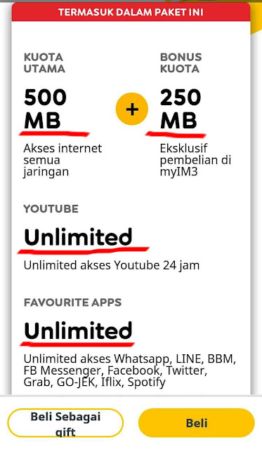 Unlimited Youtube Indosat Bohong
