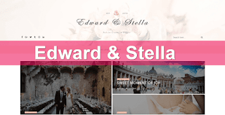 Edward & Stella blogger template
