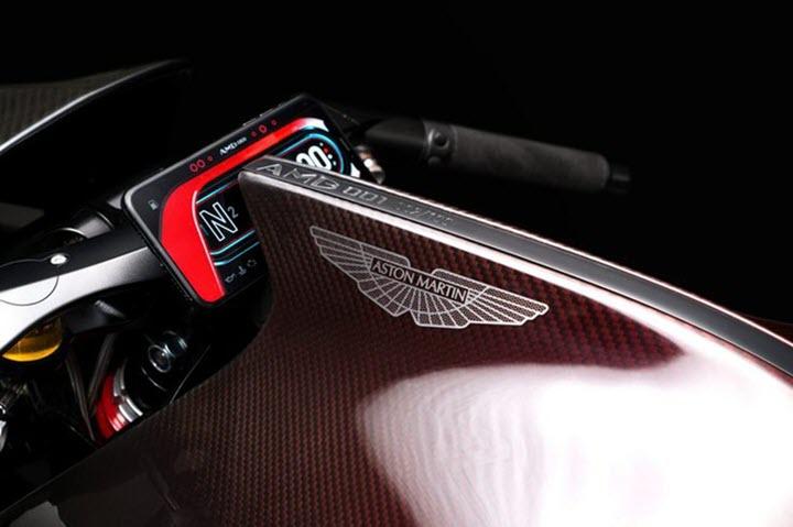 Siêu môtô Aston Martin AMB 001 - chiếc Rolls-Royce hai bánh