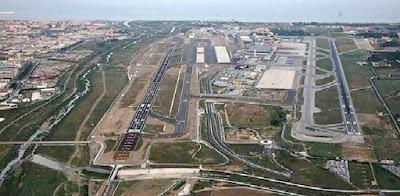 Imagen aérea del aeropuerto de Málaga - Costa del Sol