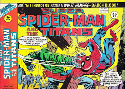 Super Spider-Man and the Titans #210