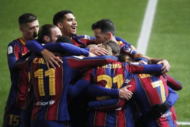 Barcelona match against Real Betis