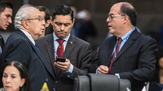 Enviados del opositor Guaidó dejan la ONU frustrados y sin avances