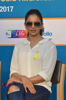Actress Rakul Preet Singh at Endometriosis Awareness Walk at Apollo Cradle  0058.jpg