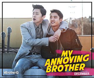 Jo Jung Seok & Do Kyung Soo (D.O EXO) menjadi adik beradik dalam FIlem My Annoying brother