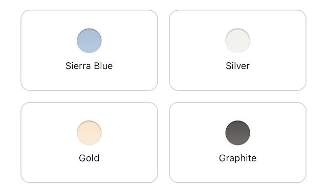 pilihan warna iphone 13 pro