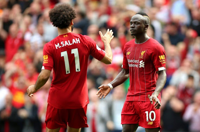 EPL: Fabinho speaks on Mane's relationship with Salah at Liverpool