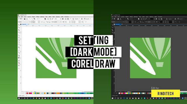 How to Dark Mode in Corel DRAW