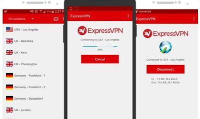 تحميل برنامج رفع الحجب ExpressVPN للأندرويد مدفوع آخر إصدار