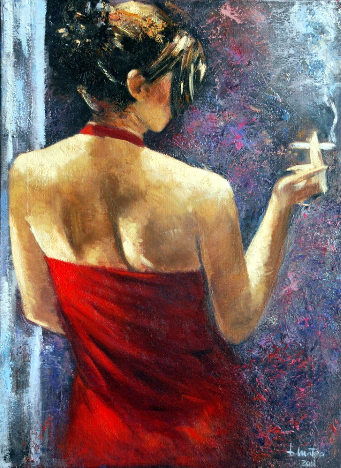 Современная испанская художница. Basi Mateo 13
