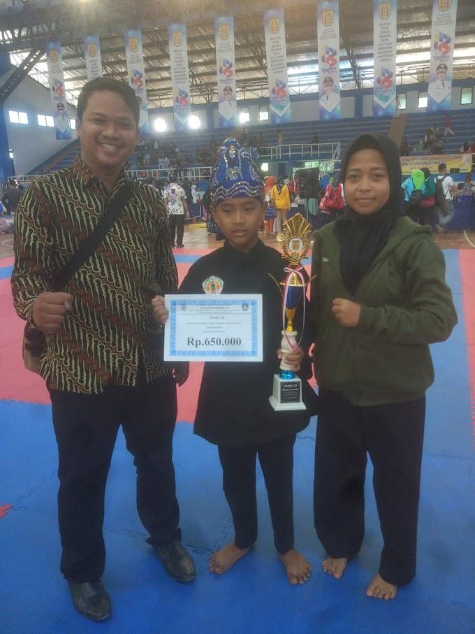 Raih Juara Ketiga : O2SN Kota Banjarbaru Cabang Pencak Silat