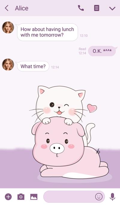 Pig & Cat lover.