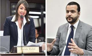 Rafael Paz dice está dispuesto a debatir con  Faride Raful temas como corrupción y otros más de su elección