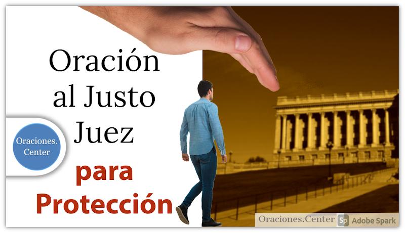 Oración al Justo Juez para Protección