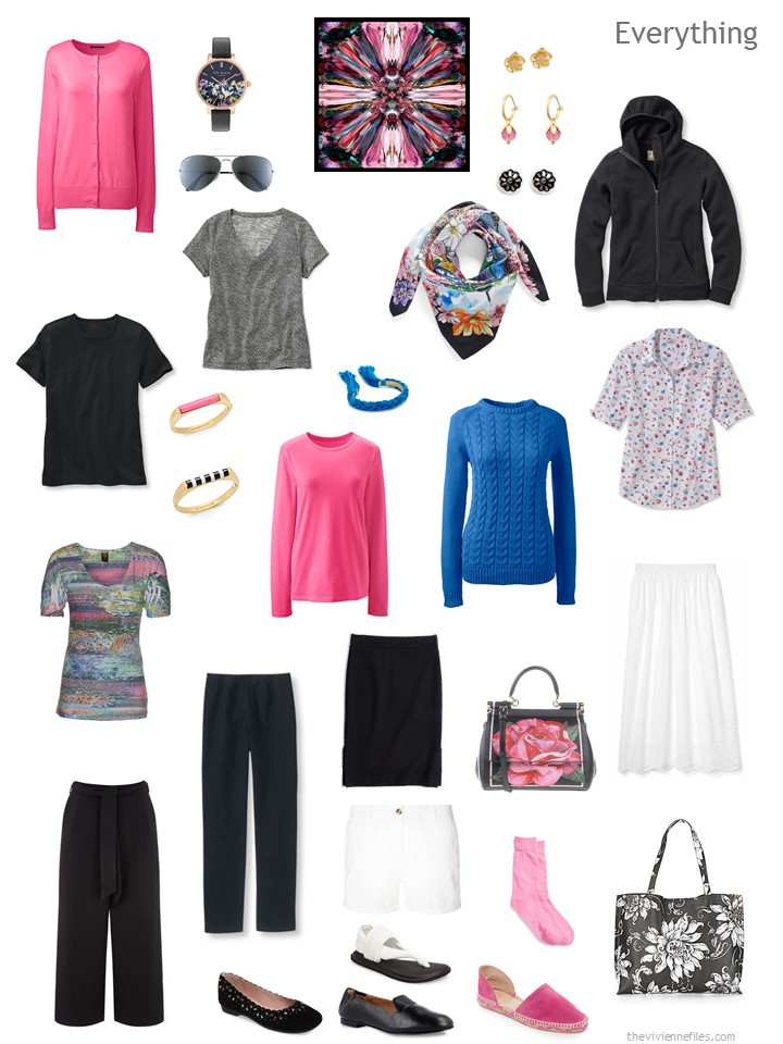 The Power Of Accessories In A Travel Capsule Wardrobe