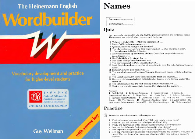 THE HEINEMANN ENGLISH WORDBUILDER