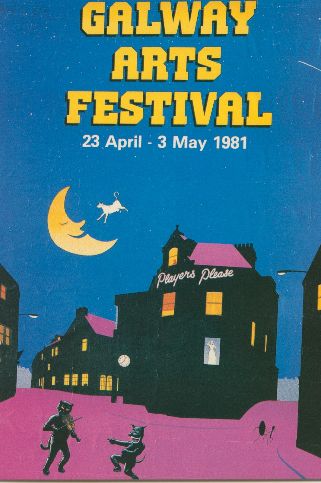 Poster design galway - For Any Visitors To The Galway International Arts Festival And Are Curious About This Amazing Archive Collection Please Do Contact The Archives Service For