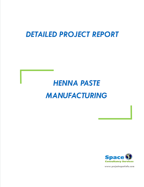 Project Report on Henna Paste Manufacturing