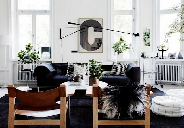 Trend Alert: Black Swing Arm Lamps In Home Decor /// Design Fixation