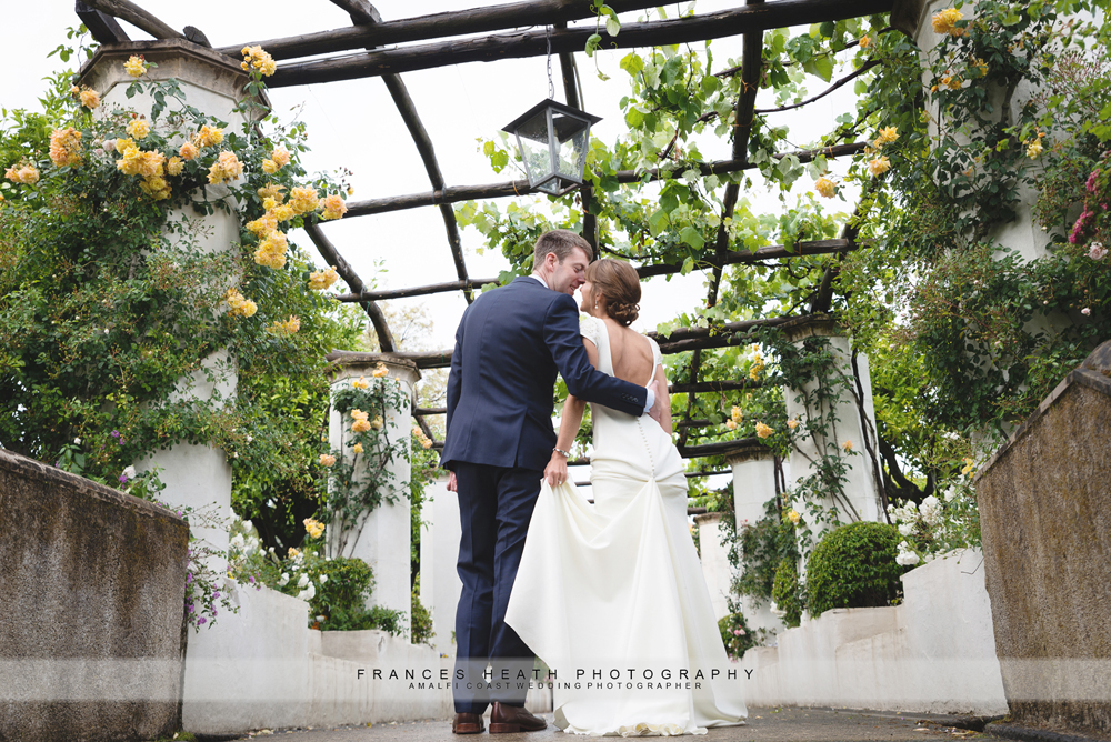Garden wedding in Ravello