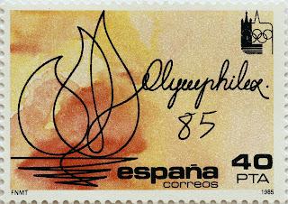 EXPOSICIÓN INTERNACIONAL DE FILATELIA OLÍMPICA OLYMPHILEX