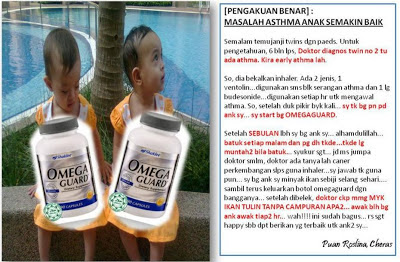 Image result for testimoni omega guard baik untuk asma