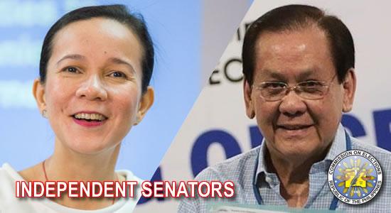 LIST: Tentative Candidates National Positions - Senators (Independent)