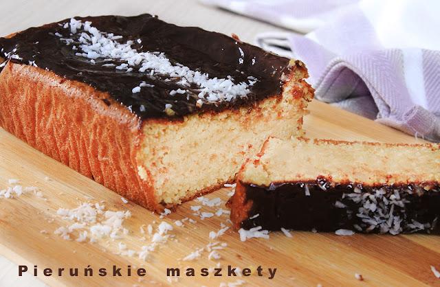 kokosowe ciasto fasolowe