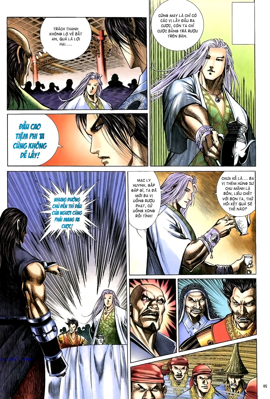 Anh hùng vô lệ Chap 15: Hổ thét long gầm người cạn chén  trang 21