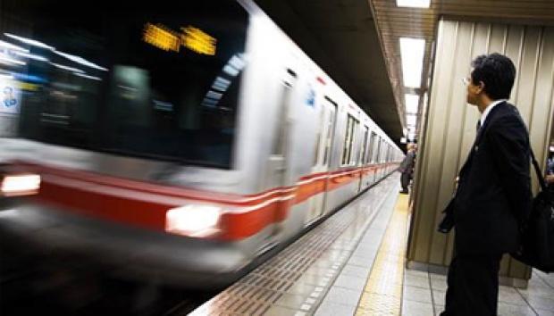 kereta api bawah tanah