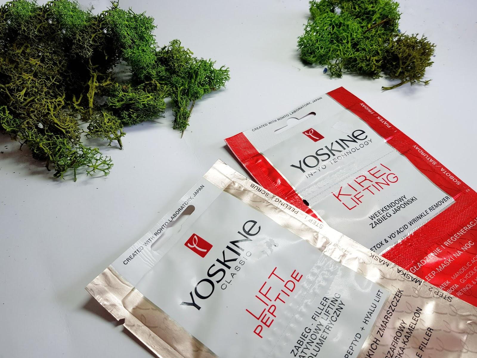Bliżej Japonii -  maseczki Yoskine