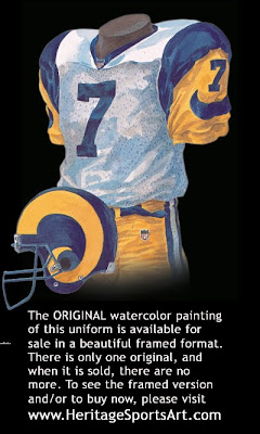 St. Louis Rams 1999 uniform